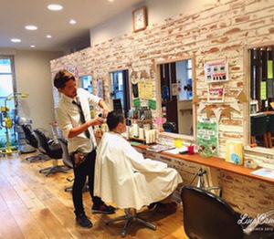 平塚の美容院レアの店内