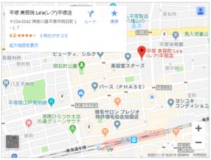 レア平塚店_map