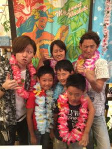 平塚の美容室Le'aのハワイアンイベント