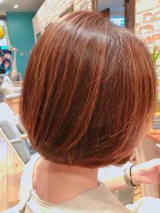 平塚の美容室Le'aの女性モデル